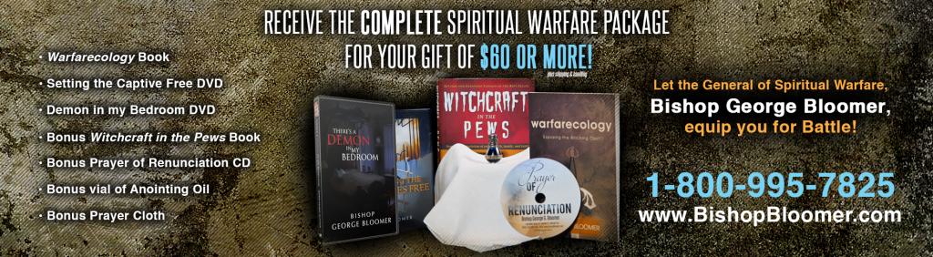 spiritual warfare package_banner - Bishop Bloomer